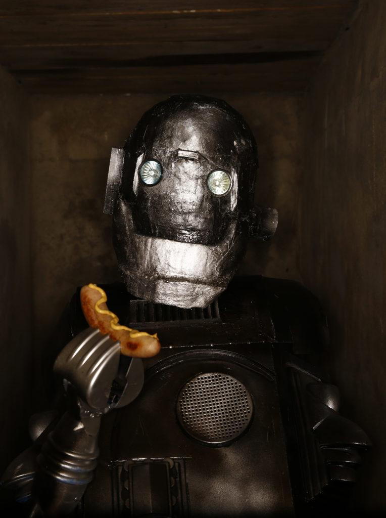 Roboter Mit Senf